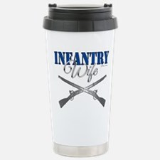 Infantry Wife Symbol Stainless Steel Travel Mug