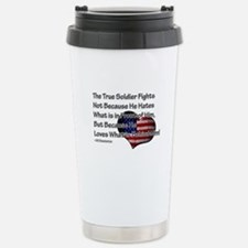 The True Soldier Stainless Steel Travel Mug