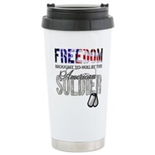 FREEDOM - Brought to you by t Travel Mug