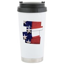 USA Flag Art Travel Mug