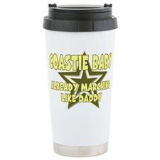 Coastie Baby Already Marching Travel Mug