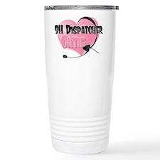 911 Dispatcher Cutie Travel Mug