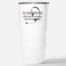 911 Dispatcher Lives on the L Travel Mug