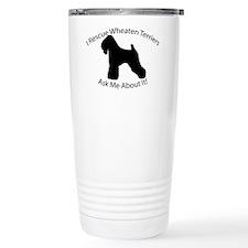 I RESCUE Wheaten Terriers Travel Mug