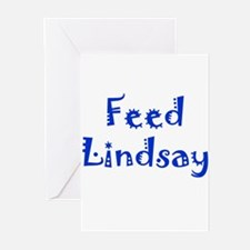 Feed Lindsay Section Greeting Cards (Pk of 10)