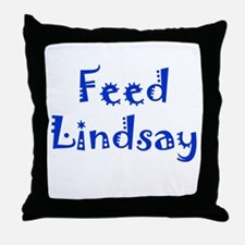 Feed Lindsay Section Throw Pillow