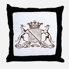 Heralding Greyhounds and Whippets - Throw Pillow