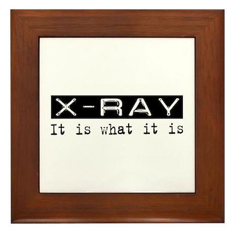 X-Ray Is Framed Tile