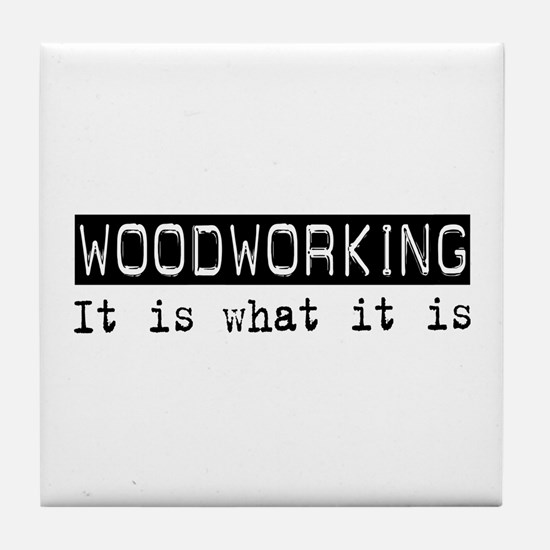 Woodworking Is Tile Coaster