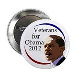 Veterans for Barack Obama 2012 Button