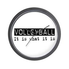 Volleyball Is Wall Clock