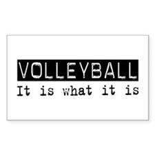Volleyball Is Rectangle Decal