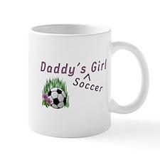 Daddy's Soccer Girl Mug