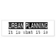 Urban Planning Is Bumper Bumper Sticker