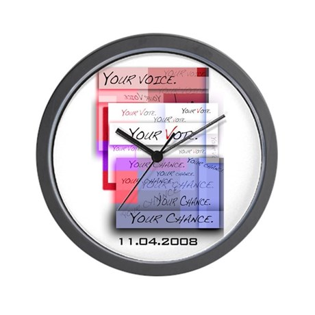 Your Voice. Your Vote. Your Wall Clock