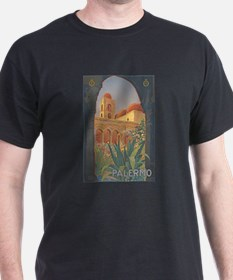 Palermo Travel Poster T-Shirt