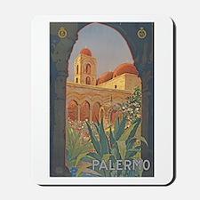 Palermo Travel Poster Mousepad
