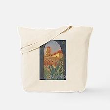 Palermo Travel Poster Tote Bag
