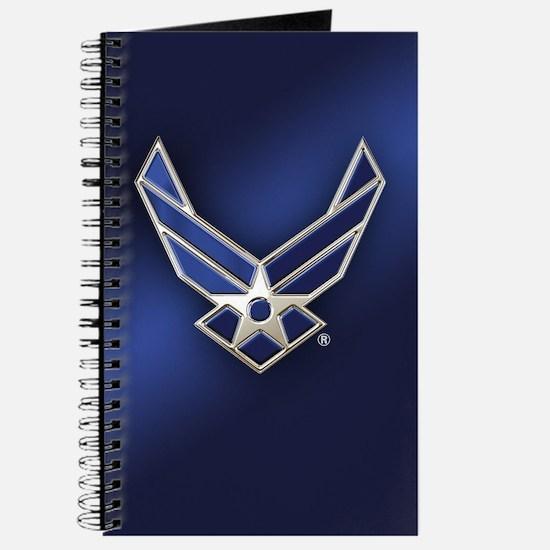 U.S. Air Force Logo Detailed Journal