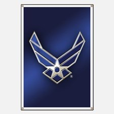 U.S. Air Force Logo Detailed Banner