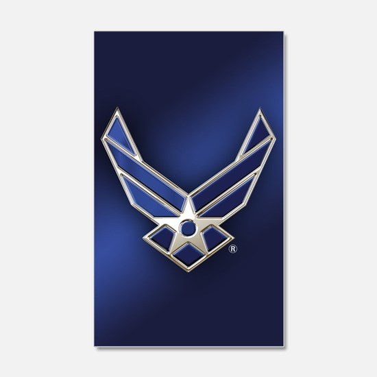 U.S. Air Force Logo Detailed Wall Decal