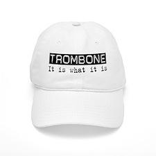 Trombone Is Baseball Cap