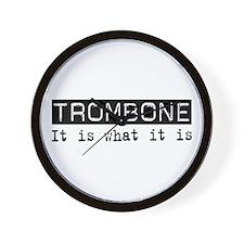 Trombone Is Wall Clock