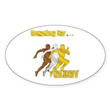 Running for Glory Decal