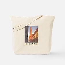 Assisi Travel Poster Tote Bag