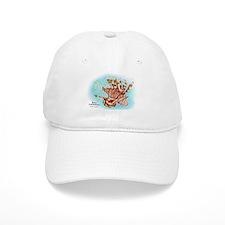 Red Lionfish Baseball Cap