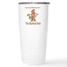 You Bastard Hole Travel Coffee Mug