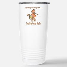 You Bastard Hole Travel Mug