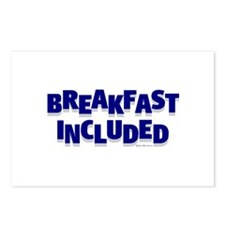 *NEW DESIGN* Breakfast INCLUDED Postcards (Package