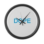 DOPE Large Wall Clock