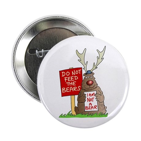 "Do Not Feed the Bears 2.25"" Button (100 pack)"