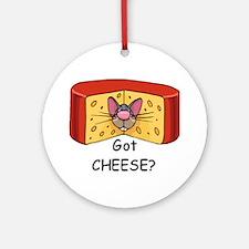 Got Cheese? Ornament (Round)