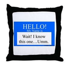 Wait! I Know This... Throw Pillow