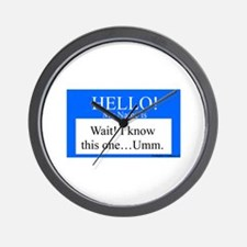 Wait! I Know This... Wall Clock