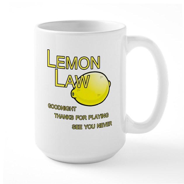 Lemon-law Mugs By Lemonlaw1