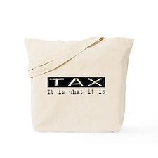 Tax Is Tote Bag
