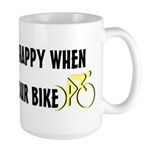 Chasing Your Bike Large Mug