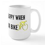 Chasing Your Bike Large Mug