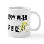 Chasing Your Bike Mug