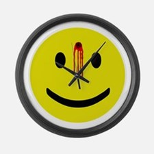 Dead Smiley Large Wall Clock