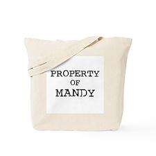 Property of Mandy Tote Bag