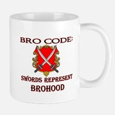 bro-code-swords Mugs