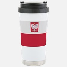 Flag of Poland Travel Mug