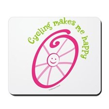Happy Cycling Mousepad