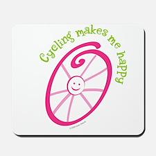 Happy Cycling Mousepad