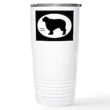 Clumber Spaniel Silhouette Travel Mug